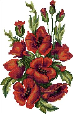 Click to close image, click and drag to move. Use arrow keys for next and previous. Cross Stitch Rose, Cross Stitch Baby, Cross Stitch Flowers, Cross Stitch Charts, Modern Cross Stitch Patterns, Cross Stitch Designs, Cross Stitching, Cross Stitch Embroidery, Black And White Flower Tattoo