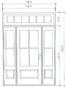 trendy Ideas for farmhouse front door sidelights Entry Door With Sidelights, Front Door Entrance, Exterior Front Doors, House Front Door, House Doors, Entry Doors, Front Entry, Front Porch, Best Front Doors