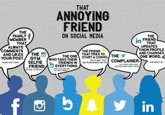 We all have those friends on social media!