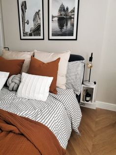 Home Interior Drawing dulux egyptian cotton parquet flooring striped bedding.Home Interior Drawing dulux egyptian cotton parquet flooring striped bedding Home Interior, Interior Design, Interior Plants, Interior Ideas, Interior Colors, Interior Livingroom, Interior Modern, Striped Bedding, Gray Bedding