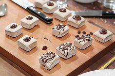 Espresso Marshmallows with Dark Chocolate Marshmallow Challenge, Chocolate Espresso, Cookie Exchange, Mini Desserts, Marshmallows, Christmas Treats, Fudge, Holiday Recipes, Sweet Tooth