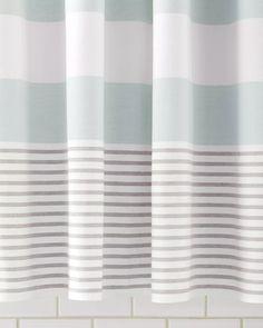 $98.00 Fouta Shower CurtainFouta Shower Curtain