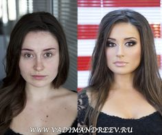 make-Up Artist transforms women in stunning before and after photos
