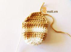 Hướng dẫn móc búp bê hươu Amigurumi Zoe Doll – noli.vn Knitted Hats, Beanie, Dolls, Knitting, Handmade Crafts, Amigurumi, Crocheting, Baby Dolls, Tricot