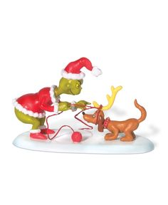 Department 56 Grinch Village All I Need is a Reindeer Collectible Figurine
