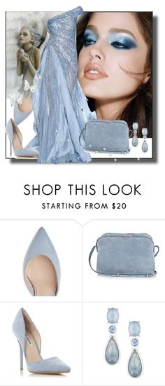 """""""Blue Eyes"""" by sheri-gifford-pauline ❤ liked on Polyvore featuring The Row, Steve Madden, Anne Klein, contest, girl and blueeyedgirl"""