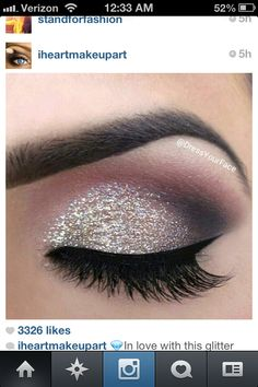 Prom makeup. MARIE! This is kind of what I want to do with you
