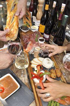 Résumé :)  #vin #tapas #Montpellier #restaurant