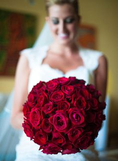 #wedding #bouquet #rose