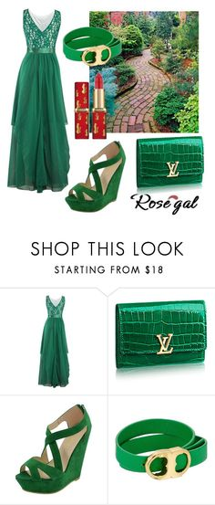 """""""green!"""" by fathimazee ❤ liked on Polyvore featuring Tory Burch"""