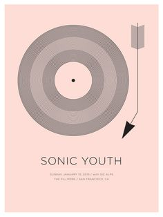 Sonic Youth at The Fillmore, January 10, 2010 by Jason Munn