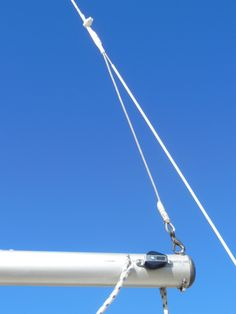 BEFORE - The stock backstay pennant