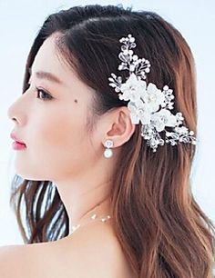 Women Rhinestone/Crystal/Alloy/Fabric Flowers/Barrette With Wedding/Party Headpiece. Get awesome discounts up to 70% Off at Light in the Box using Coupons.