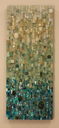 Ariel Shoemaker. Great glass mosaic More