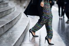 Street Style: The Opulent Clothes at Couture - The Cut