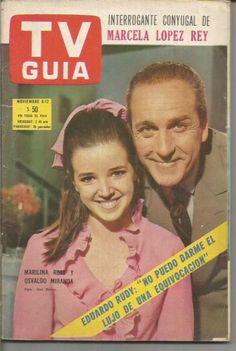Marilina Ross y Osvaldo Miranda, 1968
