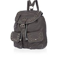 Grey washed stud rucksack.  My current bag is similiar to this.