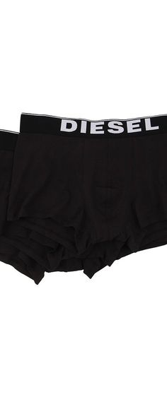 Diesel Kory Trunk NTGA 3-Pack (Black) Men's Underwear - Diesel, Kory Trunk NTGA 3-Pack, 00CKY30NTGA-001, Apparel Bottom Underwear, Underwear, Bottom, Apparel, Clothes Clothing, Gift - Outfit Ideas And Street Style 2017