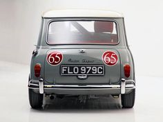 1964 Austin Mini Cooper S Rally race racing classic cooper-s f Mini Cooper Classic, Mini Cooper S, Classic Mini, Classic Cars, Mini Morris, Mini Countryman, Mini S, Unique Cars, Mini Things
