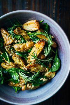 Healthy Vegan Potato Salad   Well and Full   #vegan #salad