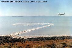 Robert Smithson - Spiral Jetty - Great Salt Lake, Utah