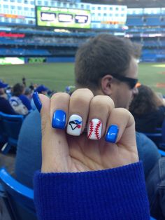 Blue Jay Nails