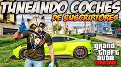 GTA 5 Online - Tuneando Coches de Suscriptores #13 - Como hacer garaje C...
