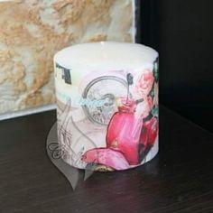 Vespa candle