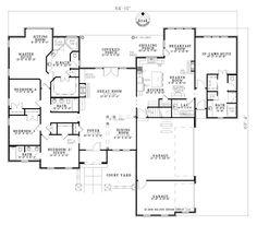 Partial basement home plans