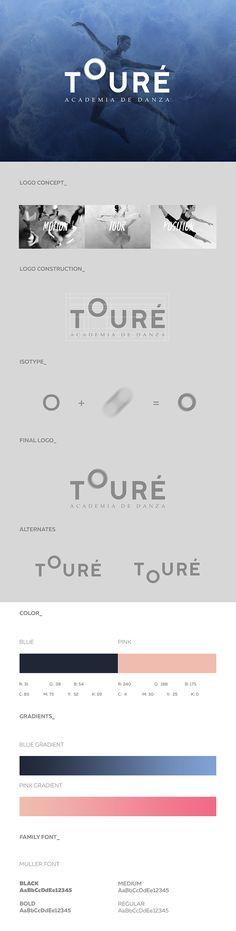 Toure Dance Academy Logo