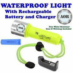 ON SALE - UNDERWATER DIVE FLASHLIGHT KIT $29.97 AOR Flashlights Cree Waterproof Diving LED Flashlight Kit AOR POWER http://www.amazon.com/dp/B00IM2K7AG/ref=cm_sw_r_pi_dp_uUktwb1YNV6EE