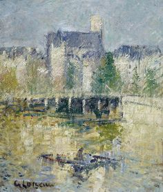 Gustave Loiseau. The Bridge of Moret-sur-Loing, 1927 | Flickr - Photo Sharing!