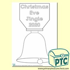 FREE Christmas Eve Jingle Printables - Worldwide Christmas Eve Jingle - Primary Treasure Chest Coloring Sheets, Colouring, Treasure Chest, Christmas Eve, A4, Bubbles, Printables, Activities, Shapes