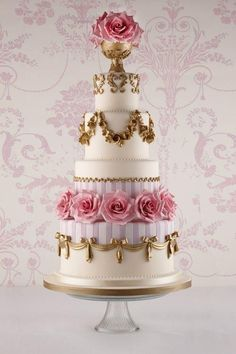 Featured Wedding Cake: Fortnum & Mason