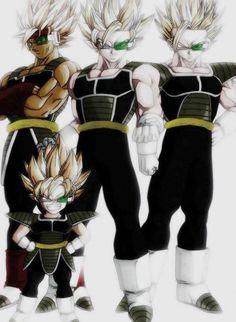 Bardock, Goku, Gohan y Goten