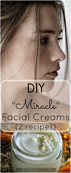 If you've decided to use only natural products for skin care, you must try these recipes for homemade facial cremes.