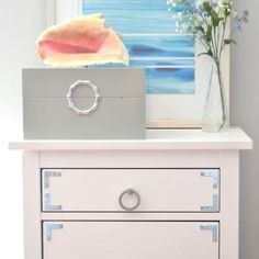 Transform a basic Ikea Hemnes dresser with some new pulls and hardware. An easy way to customize this inexpensive piece of furniture. Decor, Home Diy, Cheap Furniture, Pottery Barn, Ikea Furniture, Ikea Hemnes, Home Decor, Ikea Hemnes Dresser, Ikea