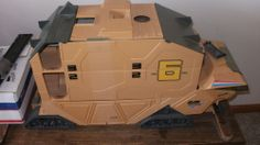 GI JOE 1987 Mobile Command Center Steam Roller Toy Collectible Vintage Complete