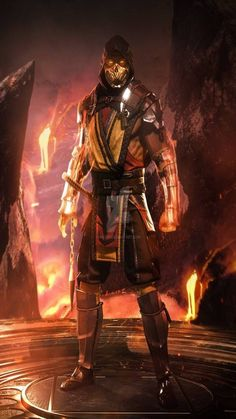 Get the New Mortal Kombat 11 Wallpapers with All the characters Scorpion, Jade, Sub Zero and others. You can Pre Order the Game Now Escorpion Mortal Kombat, Mortal Kombat Tattoo, Mortal Kombat X Wallpapers, Saint Mathieu, Claude Van Damme, Arte Ninja, New Poster, Video Game Art, Video Games