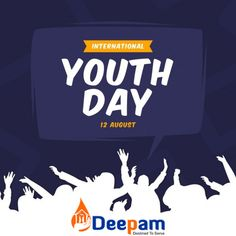 Today, we celebrate the young people, youth-led organizations, Governments and others who are working to transform education and uplift young people everywhere. International Youth Day, Social Services, Young People, Organizations, Trust, Led, Education, Children, Happy