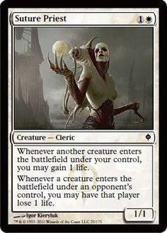 Magic: the Gathering - Suture Priest - New Phyrexia by Wizards of the Coast…