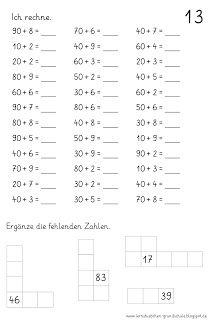 Lernstübchen: Übungsblätter für die Hausaufgaben