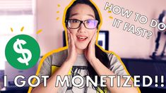 How To Get MONETIZED FAST On YOUTUBE 2020! How Long It Took, Tips On Mak... How To Make Money, How To Get, Take That, Tips, Youtube, Youtubers, Youtube Movies, Counseling
