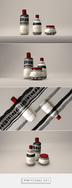 Tribal Mane Hair Products packaging designed by Natalia Triantafylli - http://www.packagingoftheworld.com/2015/10/mane-hair-products-concept.html