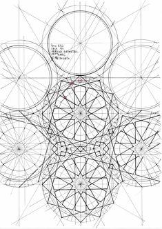 The Art Curators: Photo Islamic Art Pattern, Arabic Pattern, Geometry Pattern, Pattern Art, Arabic Design, Arabic Art, Geometric Drawing, Geometric Shapes, Islamic Calligraphy