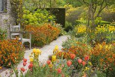 Sissinghurst Orange garden