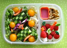 Bento lunches for kids and even better, bento lunches made for a husband!  Excited to try this!