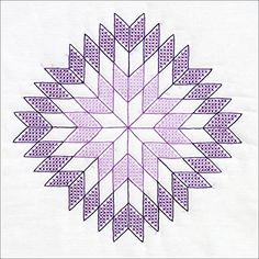 Lone Star 18″ White Quilt Blocks
