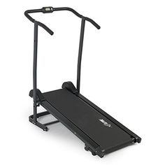 Folding Home Cardio Fitness Exercise Incline Running Manual Treadmill w/ Wheels Training Equipment, Gym Equipment, Cardio At Home, Best Cardio, Gopro, Gym Workouts, Cardio Fitness, Manual, Exercise