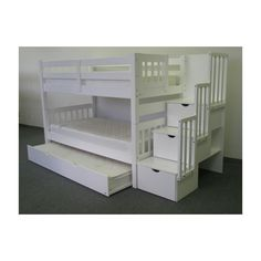 Bedz King Twin Bunk Bed with Storage & Reviews | Wayfair